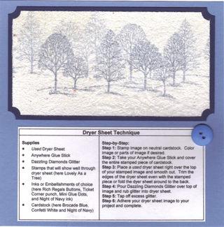 Dryer Sheet Technique